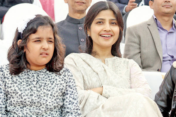 Akhilesh's daughter joins anti-CAA protest