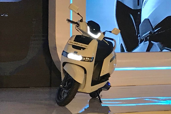 TVS rolls out electric scooter in Bengaluru market
