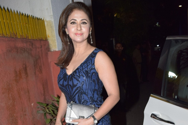 Mumbai: Actress Urmila Matondkar at the birthday party of poet-lyricist-screenwriter Javed Akhtar, in Mumbai on Jan 16, 2020. (Photo: IANS)