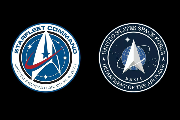 US Space Force logo resembles one from 'Star Trek'