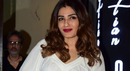 Raveena cleans train cabin: Better to be safe than sorry