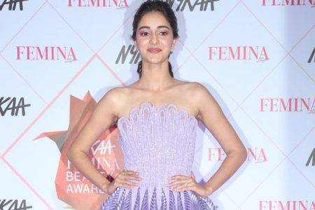 Ananya Pandey at the Red Carpet of Femina Beauty Awards