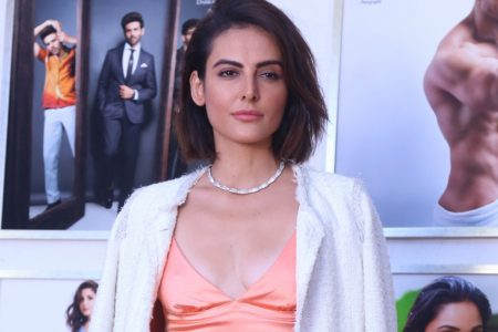 Mandana Karimi at fashion photographer Dabboo Ratnani's calendar launch