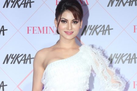 Urvashi Rautela at the Red Carpet of Femina Beauty Awards