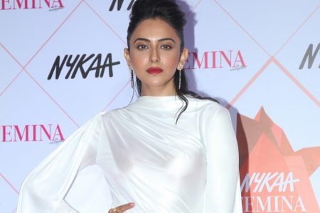Rakul Preet Singh at the Red Carpet of Femina Beauty Awards