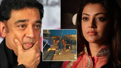 Miraculous escape for Kamal, Kajal in 'Indian 2' accident