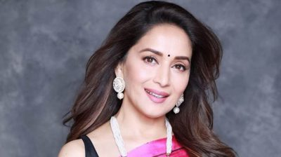 Madhuri Dixit's dance with a candle to spread positivity