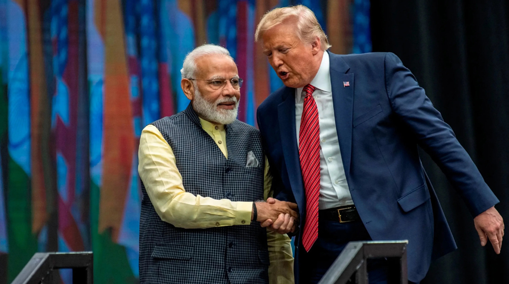 'Kem Chho,Trump'! India out, US in! the role-reversal playing out from Ahmedabad