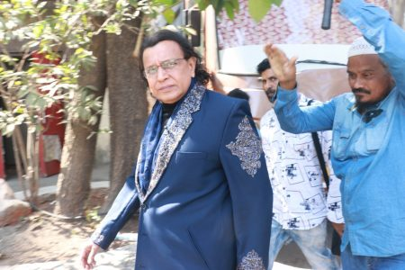 Actor Mithun Chakraborty at the grand finale of Dance plus 5 in Mumbai