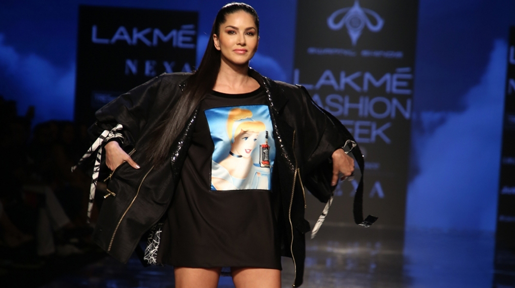 Lockdown diaries: Sunny Leone 'forced' to mop the floor