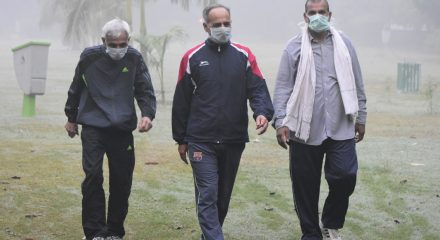 Delhi's air quality in very poor category