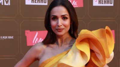 Mumbai: Actress Malaika Arora at Miss Universe 2020 Grand Finale in Mumbai on Feb 22, 2020. (Photo: IANS)