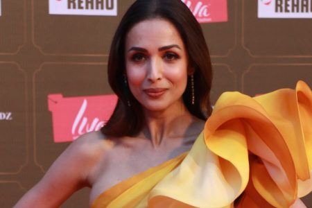 Actress Malaika Arora at Miss Universe 2020 Grand Finale in Mumbai