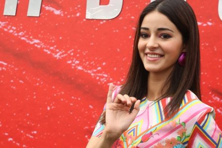 Ananya Panday discussion with fashion designer Anaita Shroff