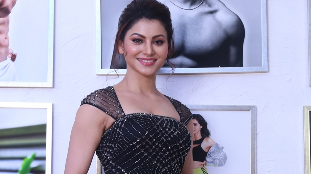 Mumbai: Actress Urvashi Rautela at fashion photographer Dabboo Ratnani's calendar launch in Mumbai on Feb 17, 2020. (Photo: IANS)
