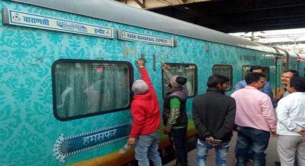 Modi flags off Kashi Mahakal Express from Varanasi