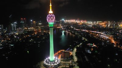 Colombo's Lotus Tower opening delayed due to coronavirus