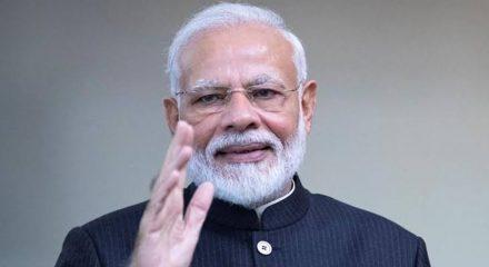 Modi hails Assam, Tripura men's enterprise, humanity