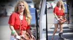 Britney Spears spotted wearing medical boot