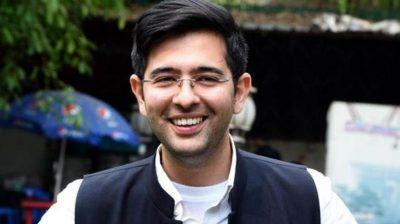 AAP MLA Raghav Chadha to be DJB Vice-Chairman