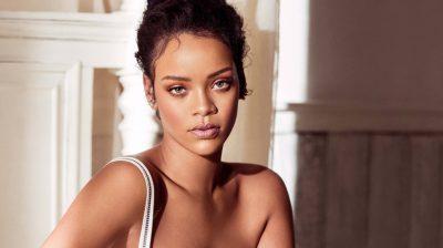 Rihanna shares a sunbathing snapshot