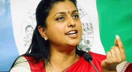 YSRCP leader Roja faces Amaravati protestors' ire
