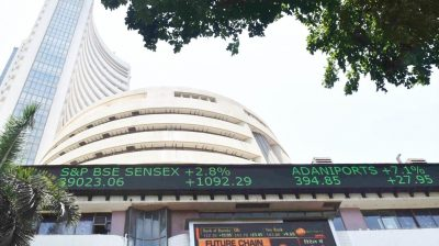 Sensex hits 45K mark for first time ever