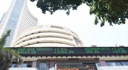 Sensex, Nifty hit record highs on vaccine hopes