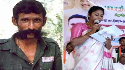 Veerappan's daughter joins BJP in Tamil Nadu