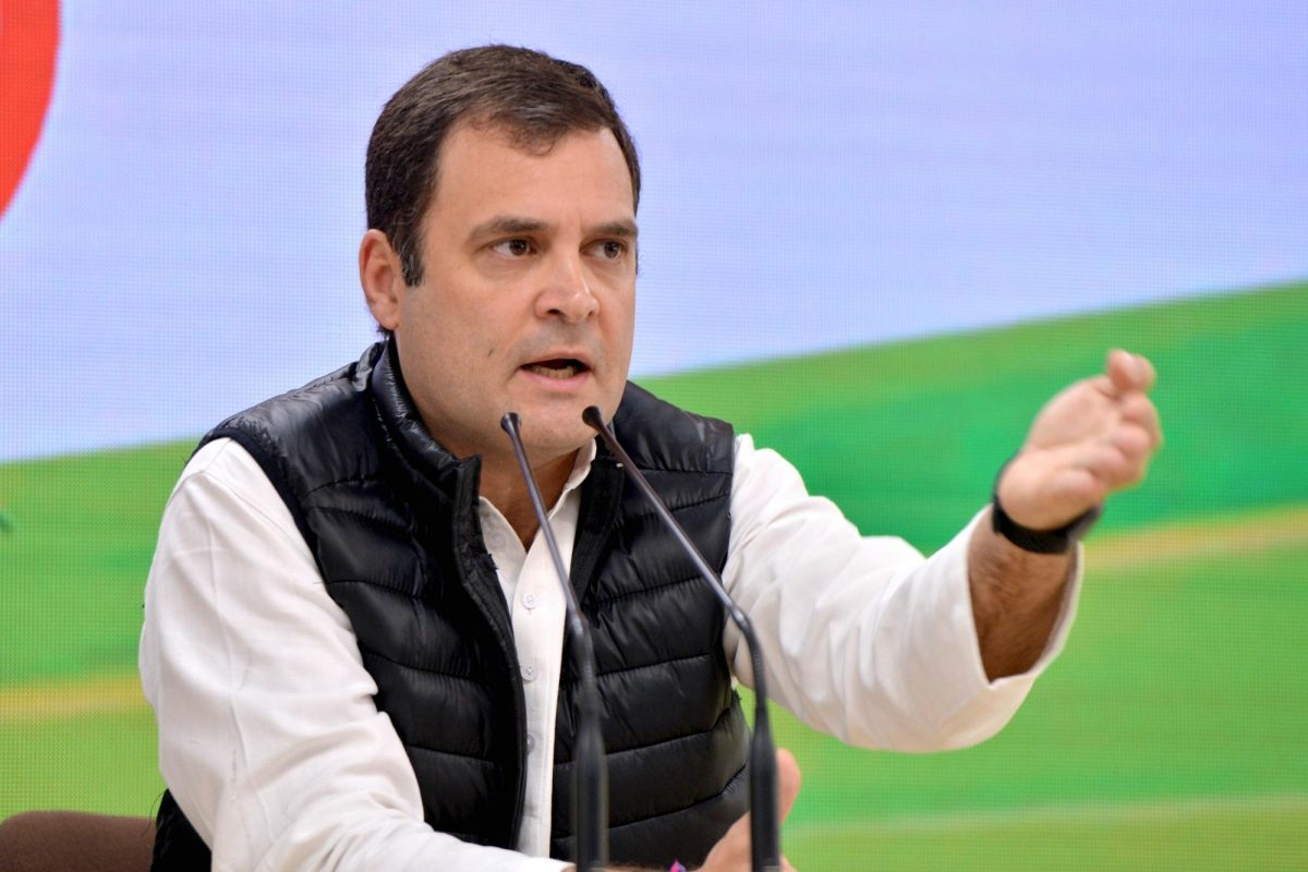 Rahul questions performance of ventilators funded by PM CARES