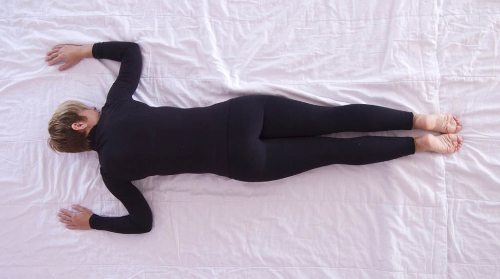 Lying face down improves breathing in severe cases