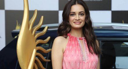 Mumbai: Actress Dia Mirza at IIFA Weekend & Awards 2020 in Mumbai on March 4, 2020. (Photo: IANS)
