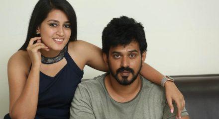"Hyderabad: Stills from Telugu film ""Angulika"" Trailer Launch in Hyderabad. (Photo: IANS)"