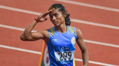 Hima Das requests everyone to take COVID-19 more seriously
