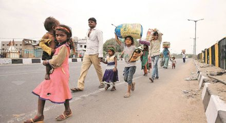 Centre: Rs 3,500 cr allocated for free food grain supply to migrants for 2 months