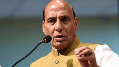 Two SP workers held for 'missing' posters of Rajnath Singh