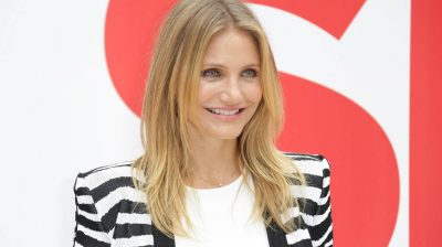 Cameron Diaz is enjoying mommy time