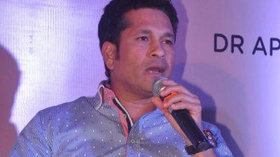 Sachin Tendulkar supports cause to help slum dwellers