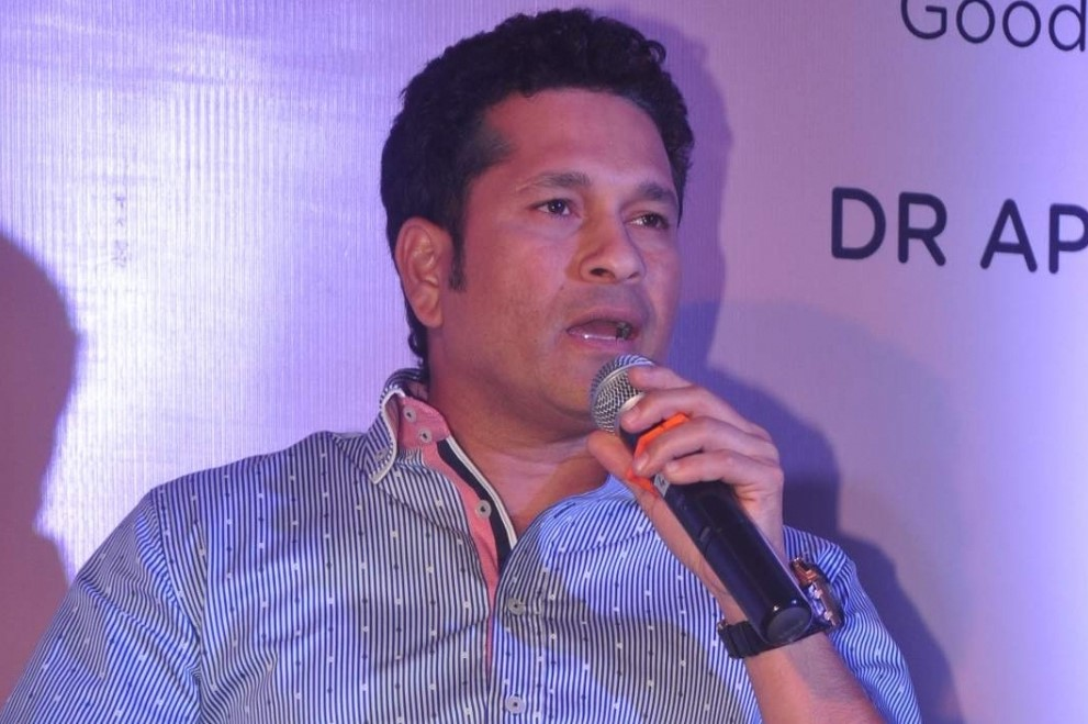 Sachin Tendulkar supports cause to help slum dwellers