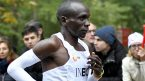 Kipchoge likens global pandemic to running marathon uphill