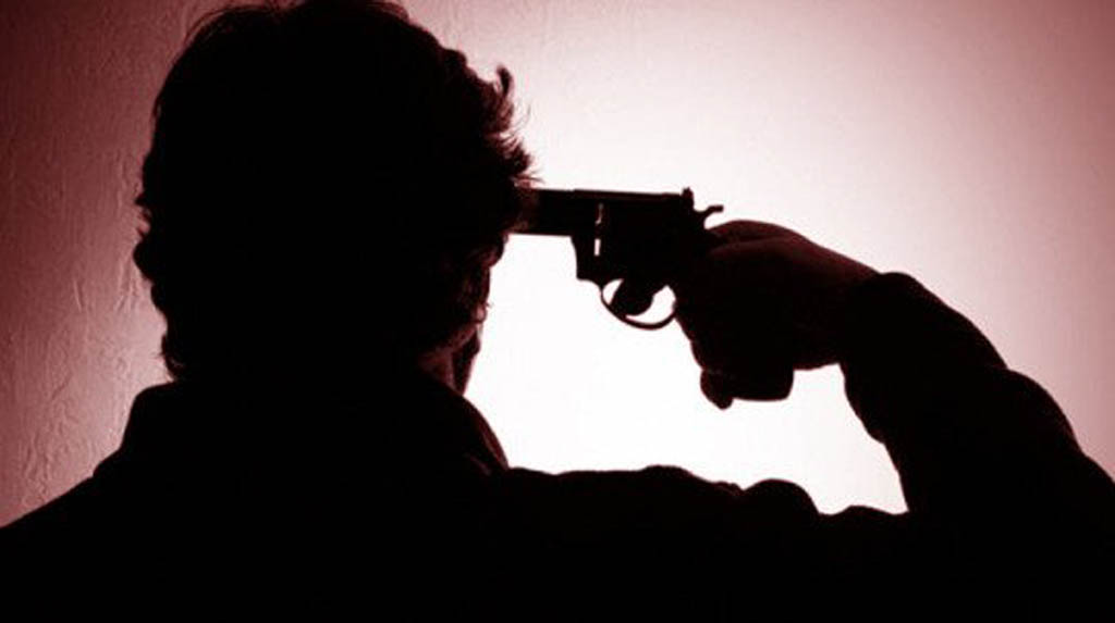 Man shoots self in fit of rage, wife also hurt in Gurugram