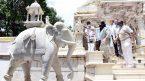 B'luru temples, mosque sanitise premises before reopening