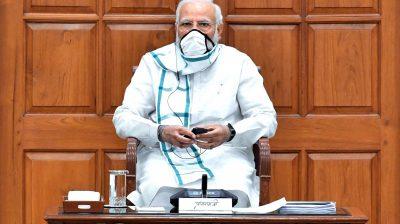 PM asks BJP to put lockdown relief work in digital format