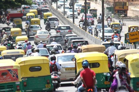 Bengaluru's Sri Vatal Nagaraj Road witnesses masive traffic jam
