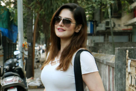 Zareen Khan starts fundraiser for former tutor's treatment