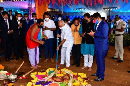 Karnatak CM laid the foundation stone for 'Bengaluru Life Sciences Park'