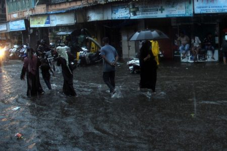 Heavy rains leave Mumbai streets inundated