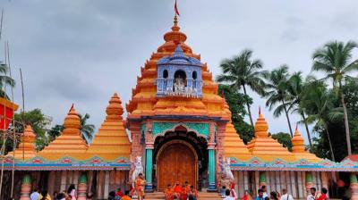 Tarini temple, Ghatagaon, Odisha Tourism, Keonjhar, Shyamhari Chakra