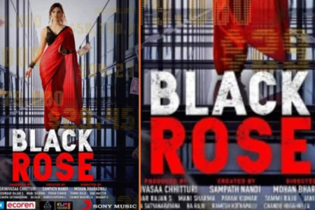 Urvashi Rautela gives a peek into her role in Telugu film 'Black Rose'