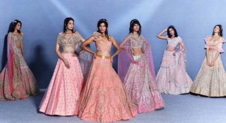Suneet Varma launches his couture collection at the digital ICW.